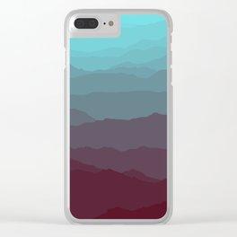 Ombré Range No. 1 Clear iPhone Case