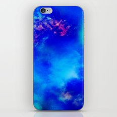 Cosmic Clouds In Dark Blue iPhone & iPod Skin