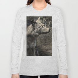 Tom Feiler Wolf Long Sleeve T-shirt