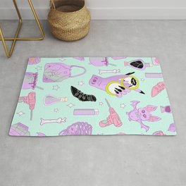 Witchy Pastel Goth: My Favorite Things Rug