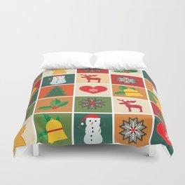 Holiday Cheer Christmas Duvet Cover