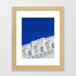 BISCAYNE DECO Framed Art Print