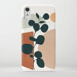 Soft Shapes V iPhone Case