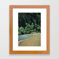 Arteries Framed Art Print