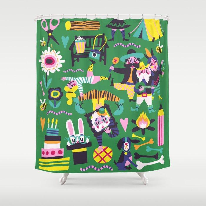 Funfair Shower Curtain
