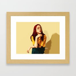 BLACKPINK JISOO Framed Art Print