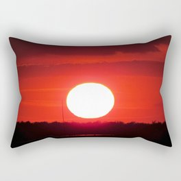 MM - Red sunset Rectangular Pillow