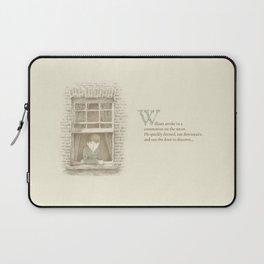 The Night Gardener - William Laptop Sleeve