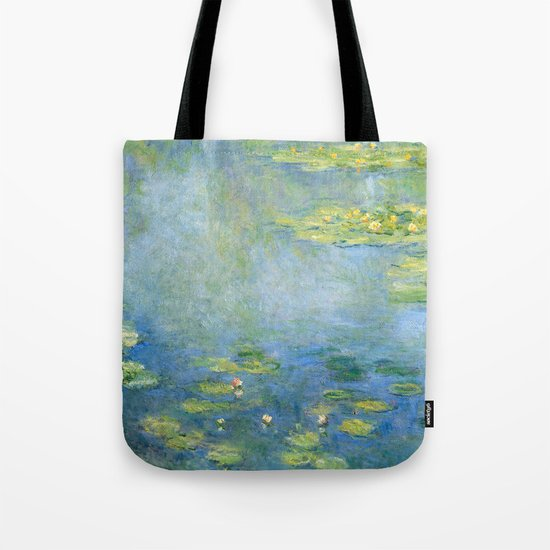 Water Lilies 1906 by Claude Monet Tote Bag