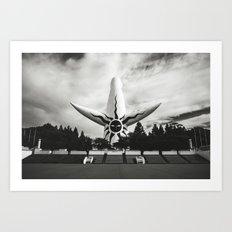 Tower Of The Sun. Art Print