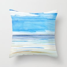 Changing weather Throw Pillow