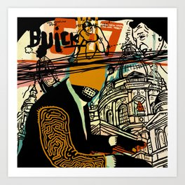 Buick Art Print
