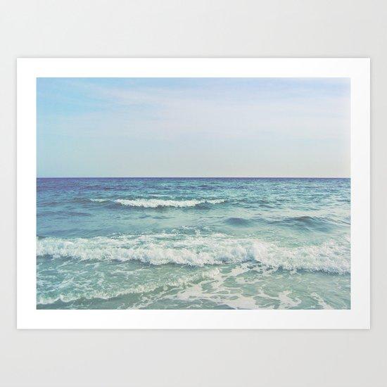 Ocean Crashing Waves by morganalamson