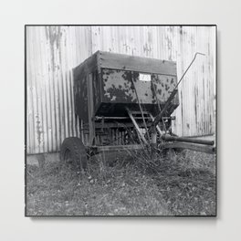 fertilizer Metal Print