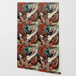 Ukiyo-e, Dragon Wallpaper