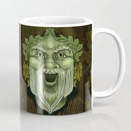 Oak King Green Man Coffee Mug