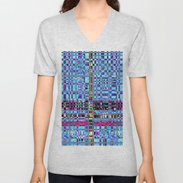 Blueberry Unisex V-Neck