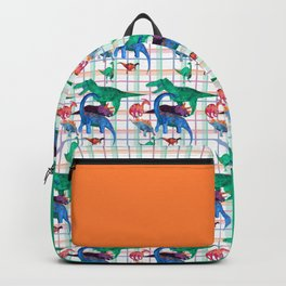 Triassic Plaid Backpack