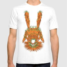 Year of The Rabbit MEDIUM White Mens Fitted Tee