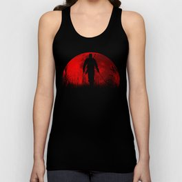 Red Moon Unisex Tank Top