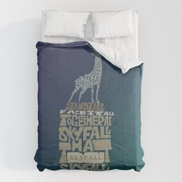 Skyfall - James Bond 007 Comforters
