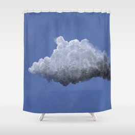 Clouds: 3 Shower Curtain