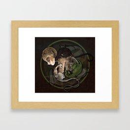 From Ash Framed Art Print