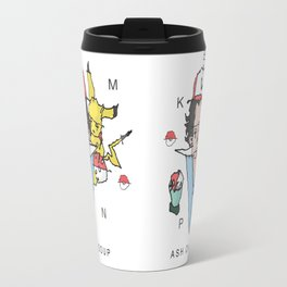 P0kemon Ash Catsoup Travel Mug
