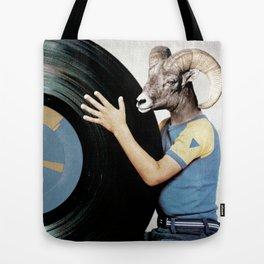 Vinyl life Tote Bag