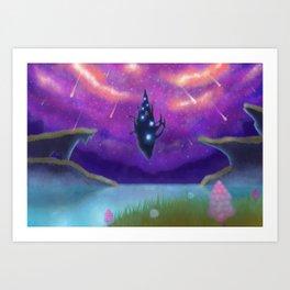 Eryth Sea Art Print