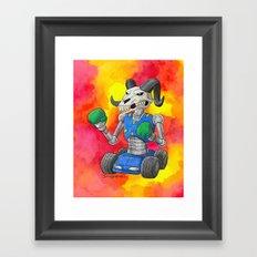 Put Up Your Dukes Framed Art Print