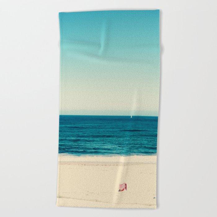 beach feeling Beach Towel