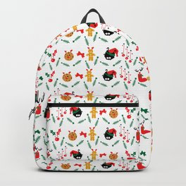 Christms decoration pattern Backpack