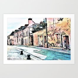 French Alley Art Print