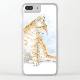 Cat 616 Clear iPhone Case