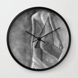 Drapery Wall Clock