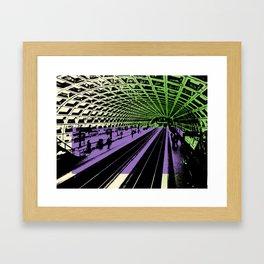 Washington DC Metro Framed Art Print