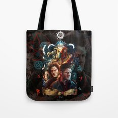Family Don't End with Blood Tote Bag
