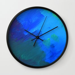 The woods are lovely, dark and deep  Wall Clock