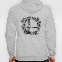Super Smash Bros Ink Splatter Hoody
