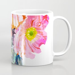 Watercolor Flower Pot Coffee Mug