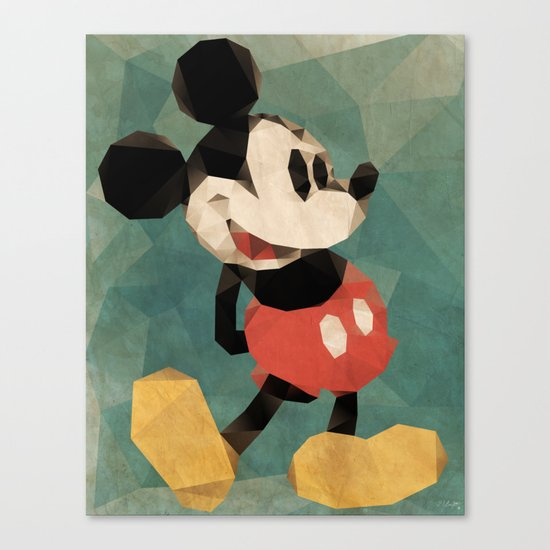 Mr. Mickey Mouse Canvas Print