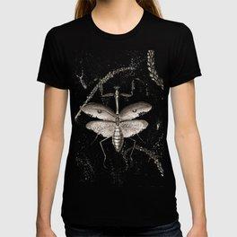 Praying Mantis watercolor T-shirt