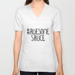 AwesomeSauce Awesome Sauce Unisex V-Neck