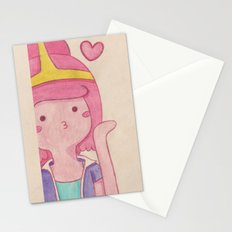 blow kiss Stationery Cards