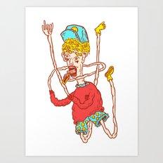 SWAG LIFE Art Print