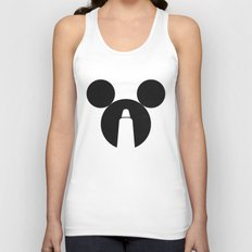 The Dark Side of the Mouse Unisex Tank Top