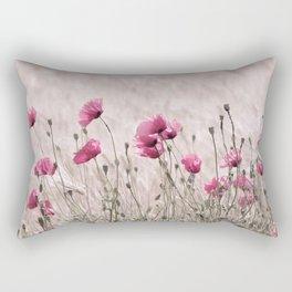Poppy Pastell Pink Rectangular Pillow