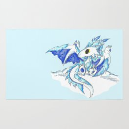 Baby Ice Wyvern Rug