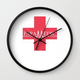 Paramedic Saving Lives Everyday EMT EMS Wall Clock